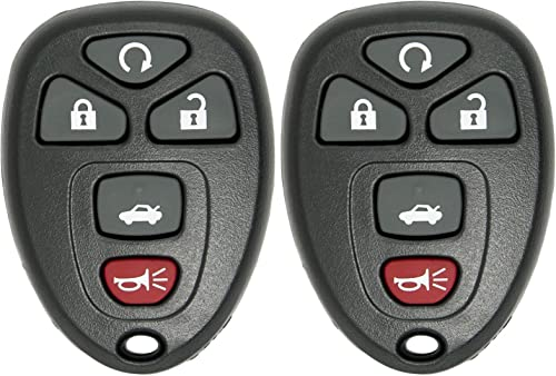 KeylessCanada /© 2 New Keyless Entry 4 Button Remote Car Key Fob Fobik Ford Escape Expedition Explorer Focus Fusion Mustang Taurus Escort Lincoln Navigator Town Car Mercury Vehicles with DIY Programming 2 Pack