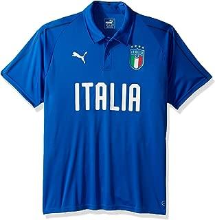 Men's FIGC Italia Polyester Polo