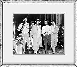 INFINITE PHOTOGRAPHS Photo: Pedro Albizu Campos,1891-1965,Under Arrest,Leaving Home