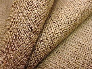 Ainsberry Fabrics Tela de arpillera de yute, 100 cm de ancho, se vende por metros, ideal para tapicería y manualidades