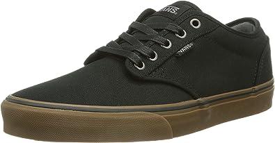 Vans Mens Atwood Canvas Skate Shoes - Size: 11.5, Black/gum