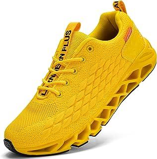 LARNMERN Scarpe da Ginnastica Uomo Donna Corsa Respirabile Mesh Sportive Fitness Running Sneakers Basse Interior Casual al...