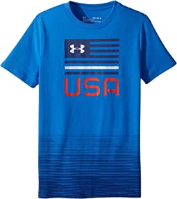 Americana USA Short Sleeve Tee (Big Kids)