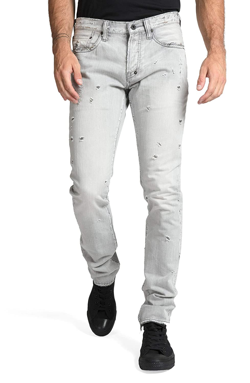 [PRPS] メンズ デニムパンツ PRPS Le Sabre Slim Fit Jeans (Loutish) [並行輸入品]