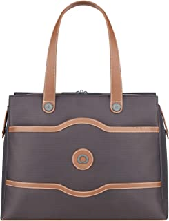 DELSEY Paris Chatelet Soft Air Shoulder Bag, Chocolate (brown) - 401774350.06