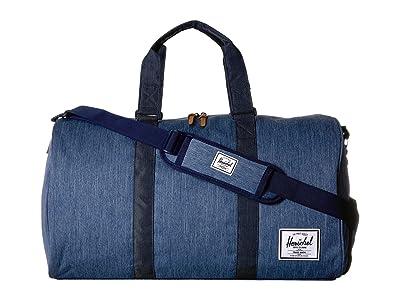 Herschel Supply Co. Novel (Faded Denim/Indigo Denim) Duffel Bags