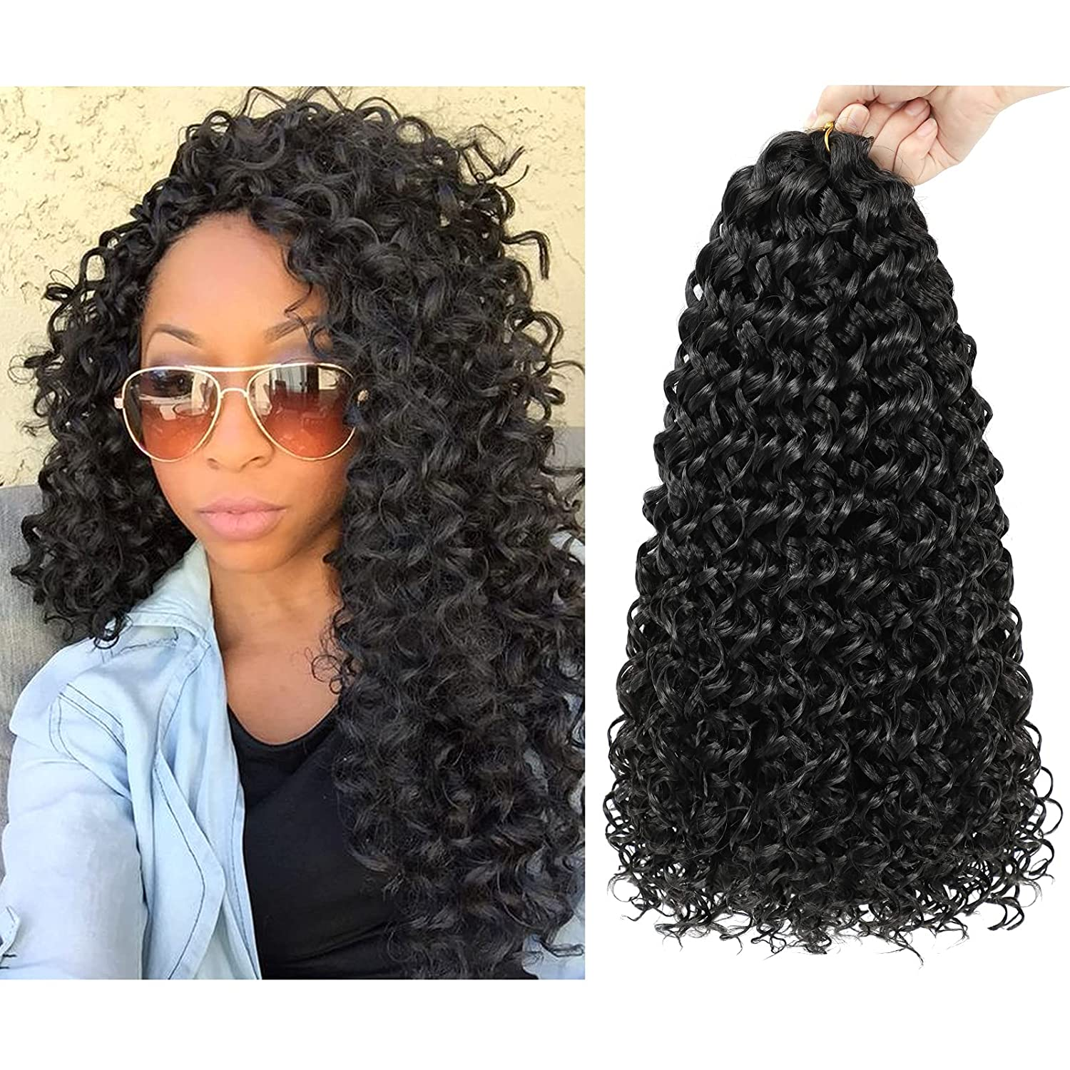 Dansama GoGo NEW Curl Crochet Braids Syntheti Max 71% OFF for Wave Water
