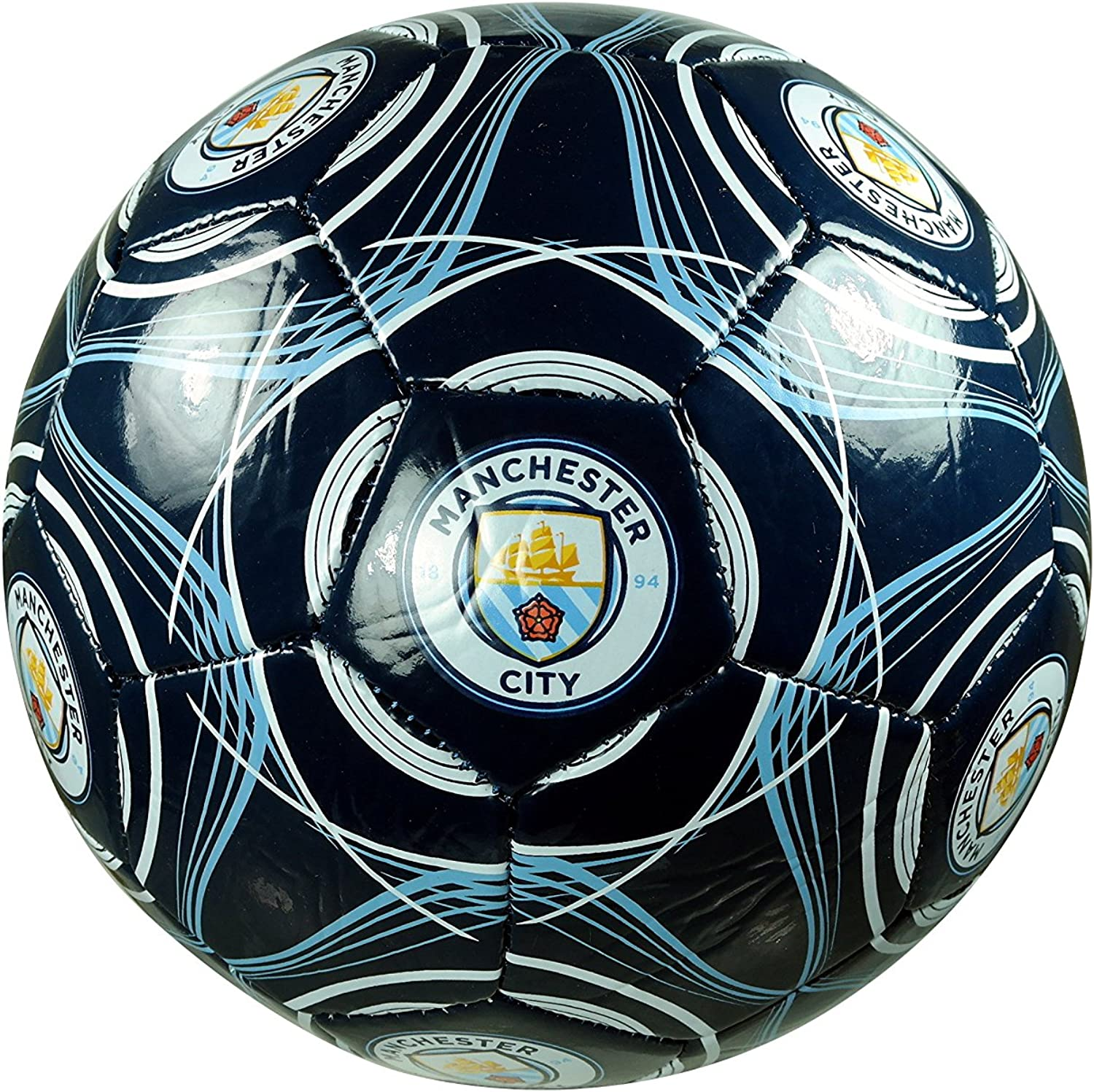 Manchester City F.C. Las Vegas Mall Authentic Official Soccer Ball Siz Super intense SALE Licensed