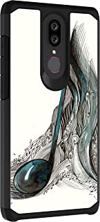 TurtleArmor   Compatible with Coolpad Legacy Case   Coolpad Alchemy Case   Slim Armor Hybrid Dual Layer Shell Case Music Design - Artistic Music Notes