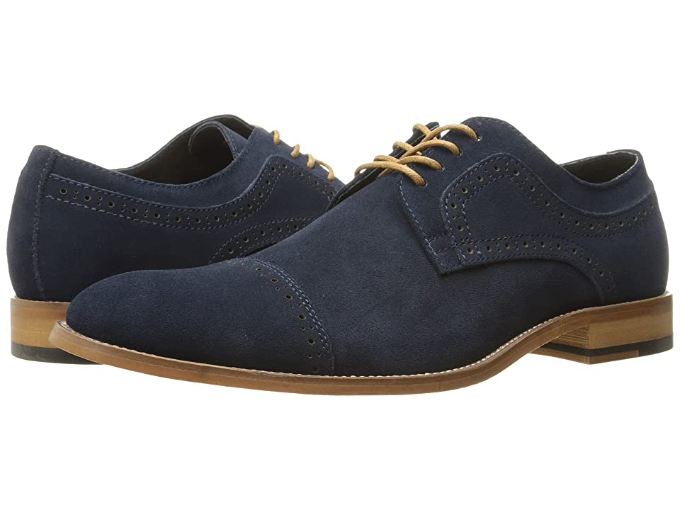 Stacy Adams Dobson (Navy Suede) Men