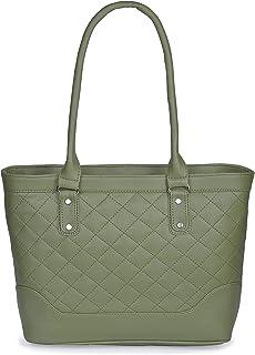 Aisna Women's Winset Handbag (ASN-173)(Green)