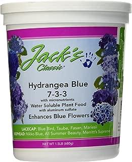 J R Peters Inc 59324 Jacks Classic No. 7-3-3 Hydrangea Fertilizer, Blue (1.5 lb)