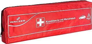 Walser 44265 KFZ Verbandstasche Kombi 2 rot nach DIN 13164