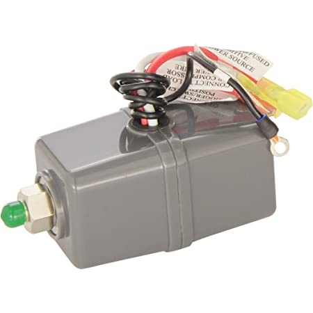 Pressure Switch With Relay 110//145 PSI Use With 12-Volt Air Compressor Only