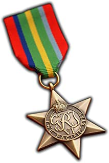 The Pacific Star Military Medal WW2 Commonwealth British Military Award For   Army   Navy   RAF   REPLICA George VI