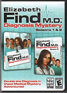 ELIZABETH FIND M.D. Diagnosis Mystery Seasons 1 & 2 Hidden Object