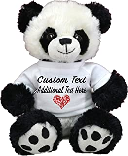 LOVE BEAR Limited Edition! Customized Plush Toys DIY Create Your Own Best Romantic Gift for Lovers St Valentine's Day by CustomizedbyBilgin (Panda 11