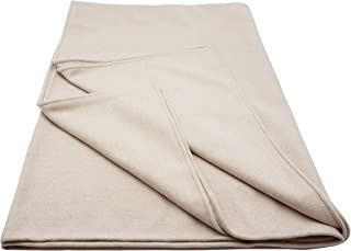 State Cashmere Soft Twin Size Blanket Cashmere Wool Herringbone Bed Cover Spread Throw 90