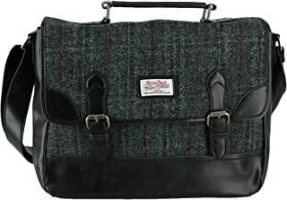 Men's Berneray Harris Tweed Tartan Briefcase