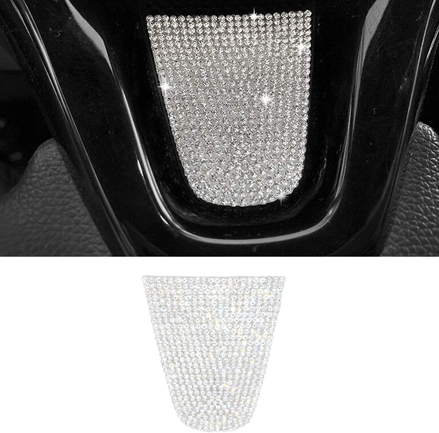 TopDall Steering Wheel Bombing new work Ignition Accessory Regular store Interior Crystal Bling