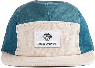 e9b51e33783 Urban Monkey Men's Cotton Ocean and Sand 5 Panel Smart, Sporty, Casual Cap (