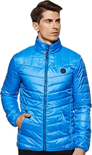 TIMBERLAND Men's Skye Pk Tf Jacket, Blue (Strong Blue F42), 2X-Large