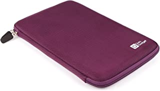 DURAGADGET Purple Hard Shell Case w/Elasticated Interior Strap - Suitable for Use with Packard Bell Liberty Tab G100 Maya Wi-Fi | Liberty Tab & Hannspree HANNSpad 10.1 Inch Tablet PC