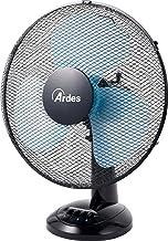ARDES AR5EA40 Ventilateur de table, Noir/Bleu