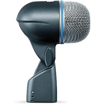 Shure BETA® 52A – Microfono dinamico per grancassa con pattern polare supercardioide, progettato specificamente per la grancassa e altri strumenti a bassa frequenza