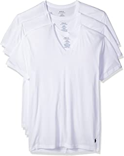 Polo Ralph Lauren Men's Classic V-Neck Undershirts 3-Pack