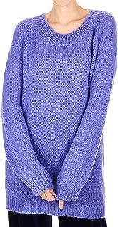 Silvian Heach Luxury Fashion Womens PGA19188MAVIOLET Purple Sweater | Fall Winter 19