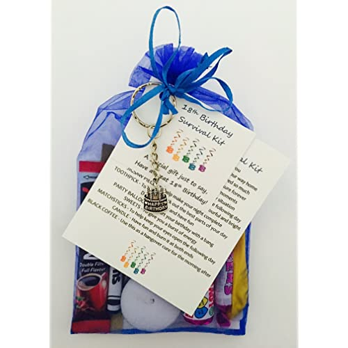 215e5c0922f2 18th Birthday Survival Gift Kit Fun Happy Birthday Gift Present For Him Her  Choose