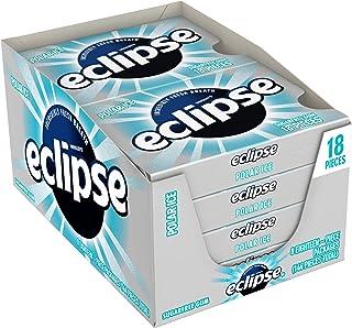 ECLIPSE Polar Ice Sugar Free Gum, 18 Pieces (8 Pack)