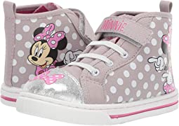 Minnie High Top Sneaker (Toddler/Little Kid)