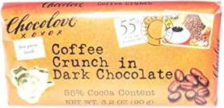 Chocolove Dark Chocolate, Coffee Crunch, 3.2 Ounce (Pack of 12)