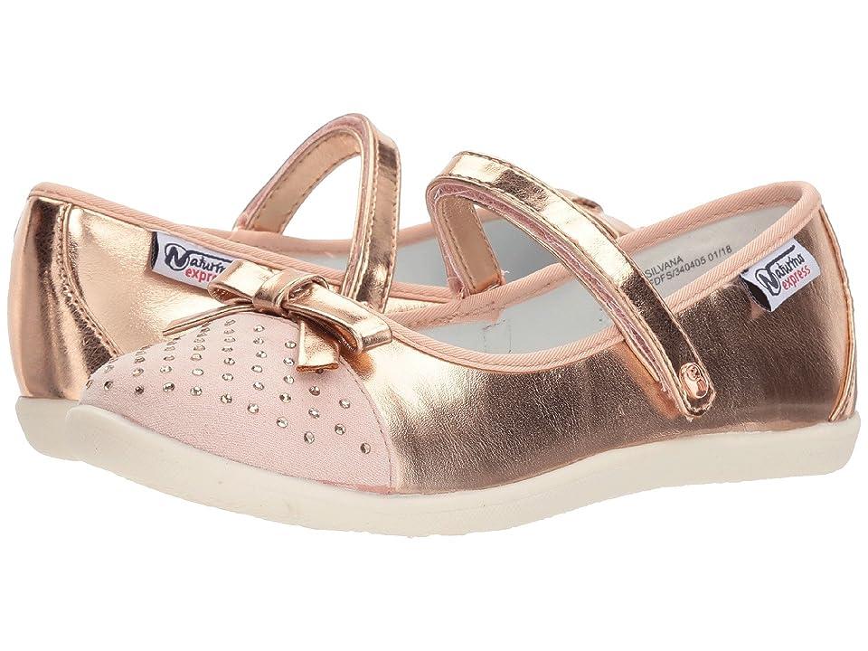Naturino Express Silvana (Toddler/Little Kid) (Rose Gold) Girls Shoes