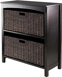 Winsome Terrace 3-Piece Storage Shelf/Bookcase