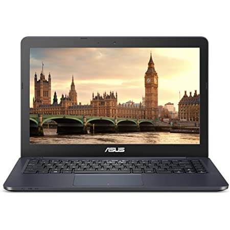 ASUS E402WA-WH21 Lightweight and Portable Laptop PC, AMD Quad Core E2-6110 Processor, 4GB RAM, 64GB Flash Storage, Windows 10 S