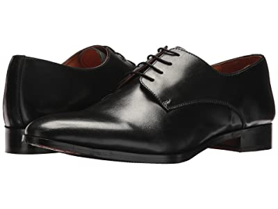 CARLOS by Carlos Santana Power Oxford (Black Full Grain Calfskin Leather) Men