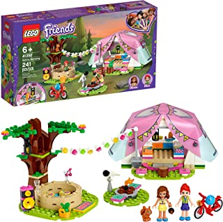 LEGO Friends Nature Glamping 41392 Building Kit; Includes Friends Mia, a Mini-Doll Tent and a Toy Bicycle (241 Pieces)