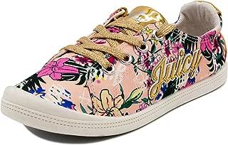 Juicy Couture Kids JC Paradise Girls Fashion Slip-On Sneaker Black