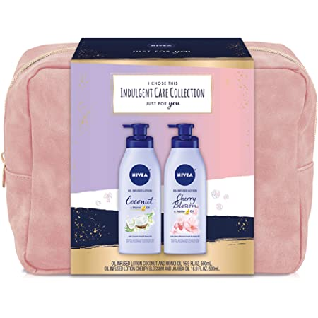 NIVEA Indulgent Skin Care Collection, 33.8 Fl Oz, (Pack of 1)