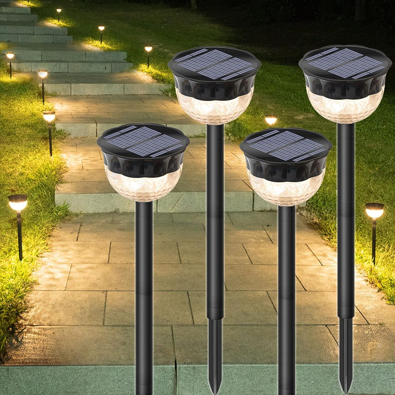 Nippon regular agency Solar Fort Worth Mall Pathway Lights Outdoor Waterproo Garden LED