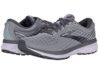 Brooks Ghost 13 (Grey/Blackened Pearl/Purple) Women