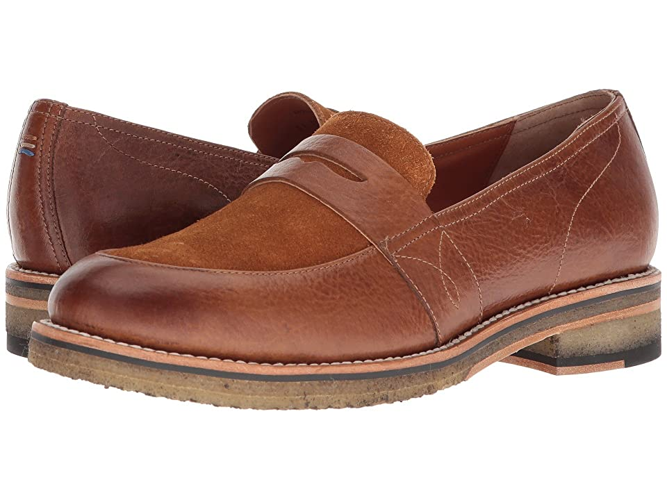 Two24 by Ariat Melrose (Cognac Bison Leather) Cowboy Boots