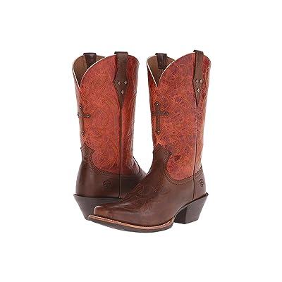 Ariat Legend Spirit (Wood/Rust) Cowboy Boots