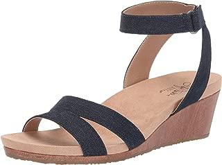 dark denim sandals
