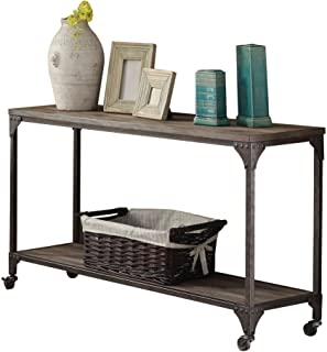 Best silver wood console table Reviews