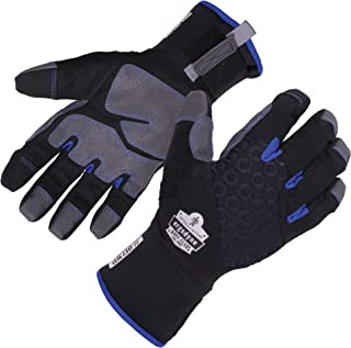 Ergodyne ProFlex 817WP Waterproof Work Gloves, Thermal Insulated, Touchscreen, Reinforced..