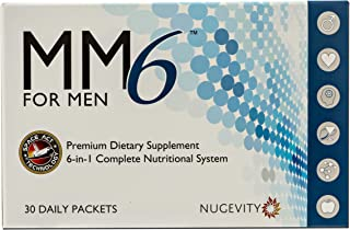Complete Multivitamin for Men 45+ with Antioxidants and Omega-3 Plus Liver, Heart and Prostate Support - MM6 for Men with ...